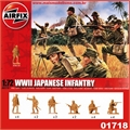 WWII JAPANESE INFANTRY- Airfix - 1/72