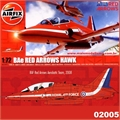 BAe RED ARROWS HAWK 2008 - Airfix - 1/72