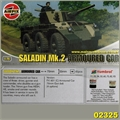 SALADIN MK.2 ARMOURED CAR - Airfix - 1/76