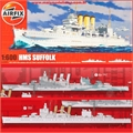 HMS SUFFOLK - Airfix - 1/600