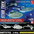 STAR TREK - The Motion Picture Set - 3 Kits AMT - 1/2500