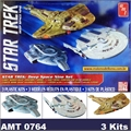 STAR TREK - Deep Space Nine Set - 3 Kits AMT - 1/2500