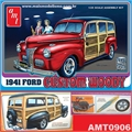 1941 - Ford Custom WOODY - AMT - 1/25