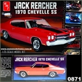 1970 - Chevy CHEVELLE SS Jack Reacher - AMT - 1/25