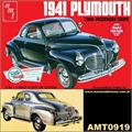 1941 - Plymouth Coupe - AMT - 1/25