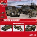 WWII RAF Vehicle Set - Airfix - 1/72