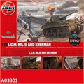L.C.M. Mk.III and Sherman - Airfix - 1/76