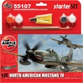 North American MUSTANG IV - START-SET Airfix - 1/72