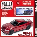 2015 - Ford MUSTANG GT UltraRED B (CHASE) - Auto World - 1/64