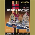 BERGEN NORWAY - Cubic Fun - C183h
