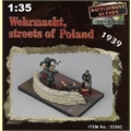 EM - Wehrmacht - Streets of Poland 1939 - Easy Model - 1/35