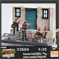 EM - German ARMY ELITE, Urban Combat, Belgrade 1941 - Easy Model - 1/35