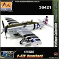 EM - P-47D Razorback William D Dunham - Easy Model - 1/72