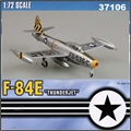 EM - F-84E-25 Thunderjet - 8th Fighter Bomber Squadron - Easy Model - 1/72