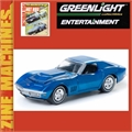 1968 - CHEVROLET CORVETTE - Greenlight Zine Machines - 1/64