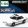 HP  9 - 1993 Ford Mustang POLÍCIA - Greenlight - 1/64