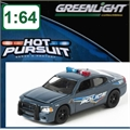 HP  9 - 2009 Dodge Charger POLÍCIA WILMINGTON - OHIO - Greenlight - 1/64