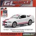 GLMUSCLE 15 - 2012 Ford SHELBY GT-500 - Greenlight - 1/64
