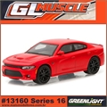 GLMUSCLE 16 - 2016 Dodge CHARGER SRT Hellcat - Greenlight - 1/64