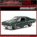 1969 - Chevrolet Yenko Copo Chevelle - Greenlight - 1/64