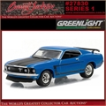 1969 - Ford MUSTANG Boss 302 - Greenlight Barrett-Jackson - 1/64