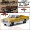1968 - Chevrolet C-10 Pickup 10th Anniversary Edition - Greenlight - 1/64