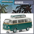 1972 Volkswagen KOMBI Type 2 SURF - Greenlight - 1/64