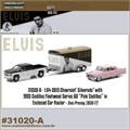 ELVIS - 1955 Cadillac FLETWOOD Series 60 - Greenlight Hitch and Tow - 1/64