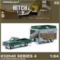 1968 Chevrolet C10 and Concession Trailer - Greenlight Hitch and Tow - 1/64