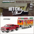 2015 Chevrolet Silverado and Trailer - Greenlight Hitch and Tow - 1/64