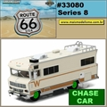1973 - Winnebago Chieftain ROUTE 66 CHASE CAR - Greenlight - 1/64