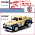 1956 - Ford F-100 Red Crown Gasoline - Greenlight - 1/64
