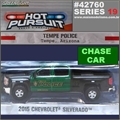 HP 19 - 2015 Chevrolet Silverado TEMP Police CHASE CAR - Greenlight - 1/64
