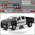 HP 19 - 2015 Chevrolet Silverado TEMP Police - Greenlight - 1/64
