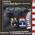 GL ROAD RACERS Diorama - Greenlight - 1/64