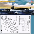 Submarino USS LOS ANGELES SSN-668 - Hobby Boss - 1/700
