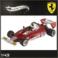 1977 - FERRARI 312 T2 N. LAUDA - Hot Wheels - 1/43