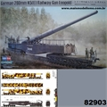 German 280mm K5(E) Railway Gun Leopold - Hobby Boss - 1/72