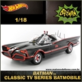 1966 - BATMOVEL TV SERIES - Hot Wheels - 1/18