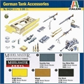 German TANK ACCESSORIES - Italeri - 1/35