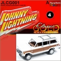1981 - Jeep Wagoneer Branco - Johnny Lightning - 1/64