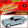 1972 - Ford Maverick Azul Claro - Johnny Lightning - 1/64
