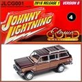 1981 - Jeep Wagoneer Marrom - Johnny Lightning - 1/64