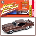 1971 - Pontiac GTO Marrom - Johnny Lightning - 1/64