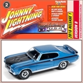 1971 - Buick GSX Azul - Johnny Lightning - 1/64