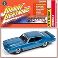 1971 - Pontiac GTO Azul - Johnny Lightning - 1/64