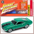 1970 - Ford MUSTANG Mach 1 Verde - Johnny Lightning - 1/64