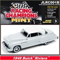 1949 - BUICK Riviera Cinza - Johnny Lightning - 1/64