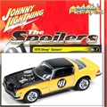 1976 - Chevy Camaro Amarelo - Johnny Lightning - 1/64