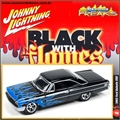 1963 - Ford GALAXIE 500 Chama Azul - Johnny Lightning Street Freaks - 1/64
